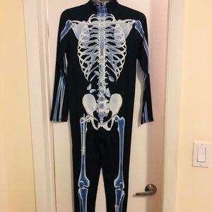 Sceleton adult costume